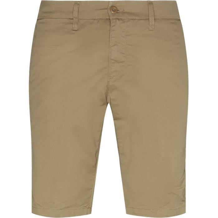 Shorts - Slim - Sand